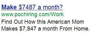 每月赚7487美元?