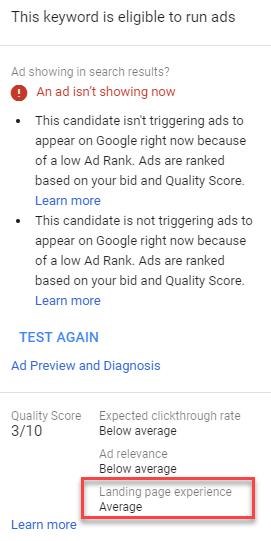 adwords keyword level insights