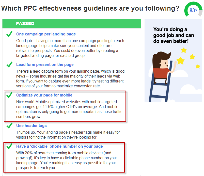 mobile adwords best practices