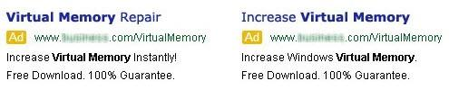 AdWords optimization text ads A/B test example