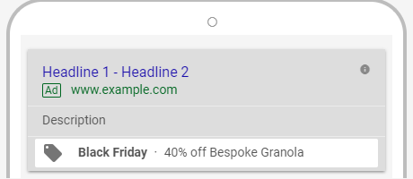 promotion extensions within the new adwords experience