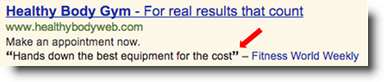 AdWords Review Extensions