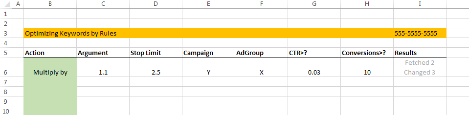 adwords scripts spreadsheet