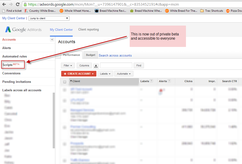 AdWords Scripts out of beta