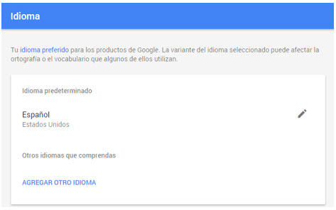 adwords settings bilingual