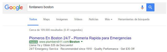 search spanish profile