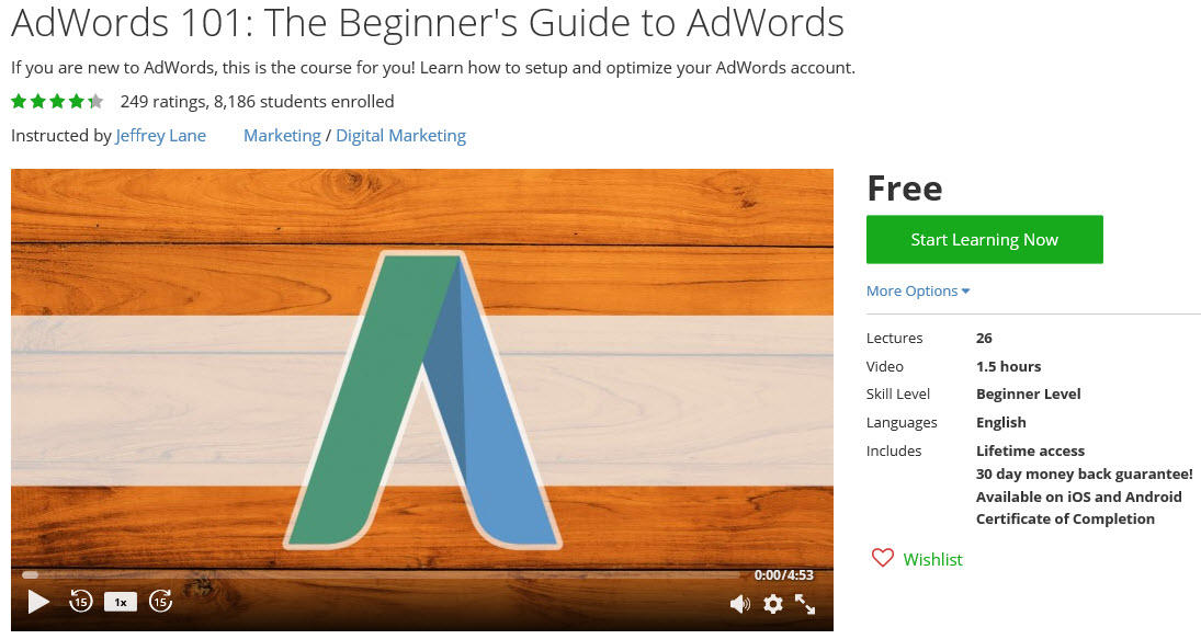AdWords 101