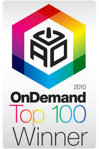 Always On On Demand 100 winner badge.