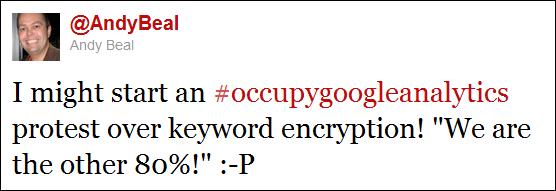 Occupy Google Analytics