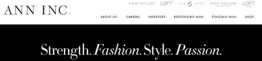 Ann Taylor Mission Statement