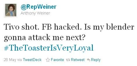 Anthony Weiner Tweets