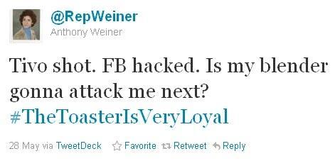 Anthony Weiner Tweets