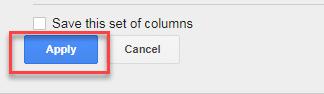 apply created column adwords ui