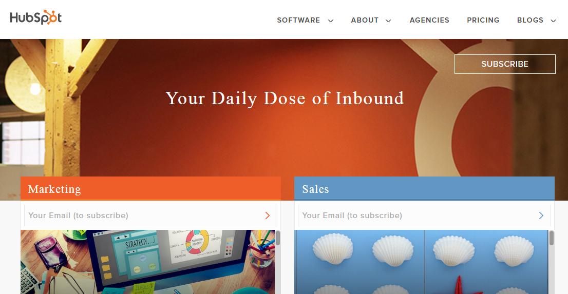 B2B content marketing HubSpot blog