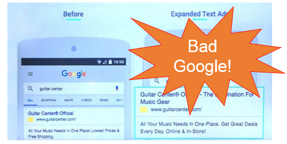 bad expanded text ads mean bad adwords performance