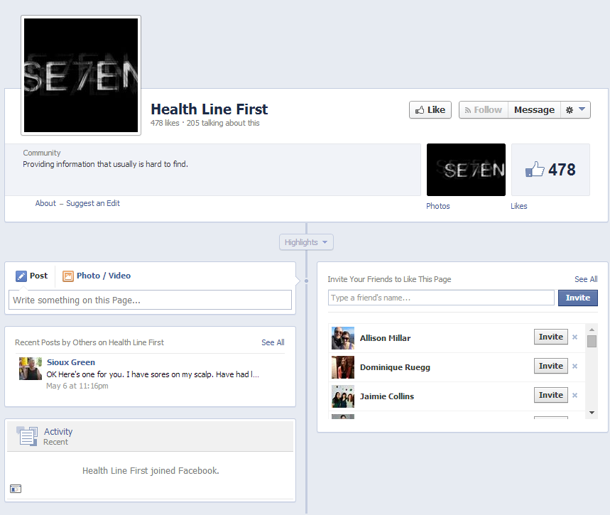 ugly facebook page
