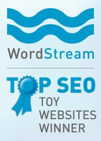 WordStream Top SEO Toy Websites Winner