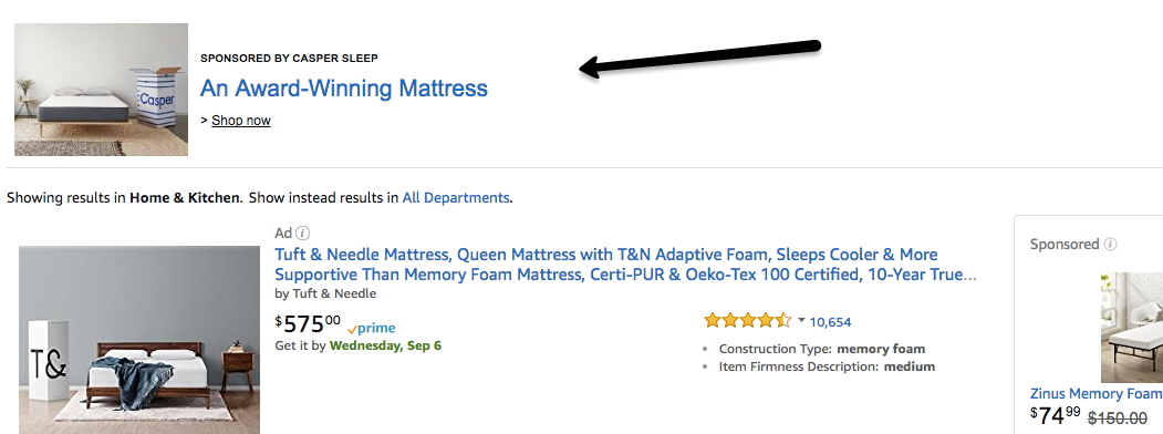 Beginner's guide to advertising on Amazon headline search ads