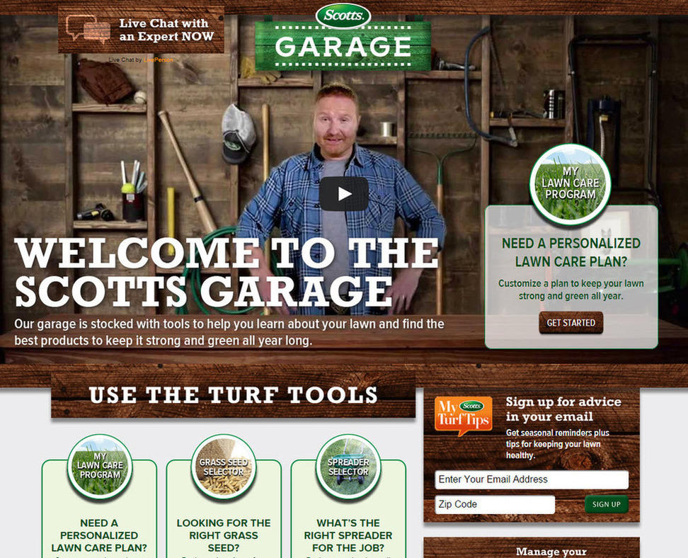 Beginner's guide to target markets Scotts garage
