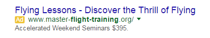 Best PPC ad copywriting advice ever elongated headlines