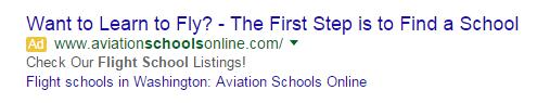 Best PPC ad copywriting advice ever use elongated headlines