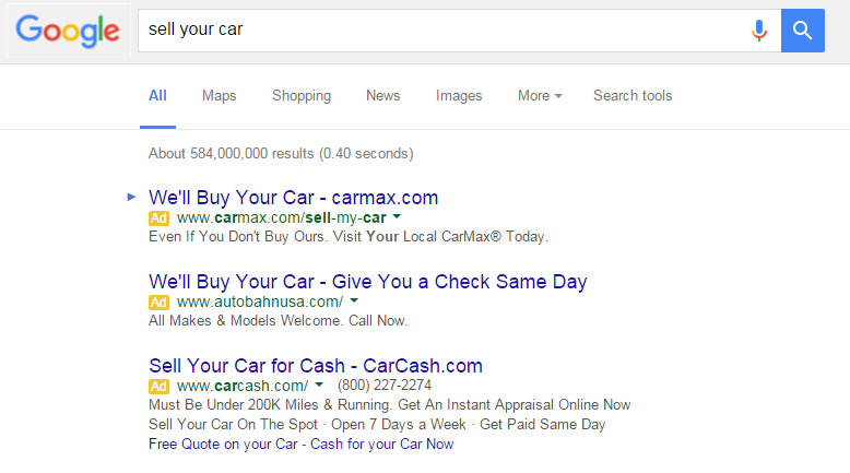 Best PPC ad copywriting advice ever mirror user intent