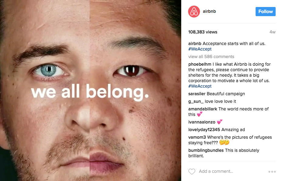 Best Instagram marketing campaigns Airbnb