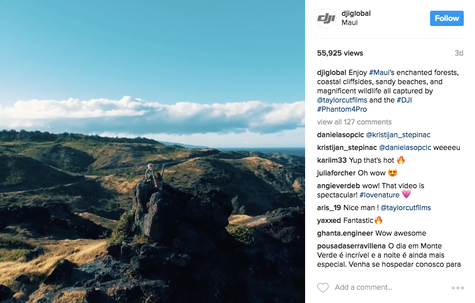 Best Instagram marketing campaigns DGI