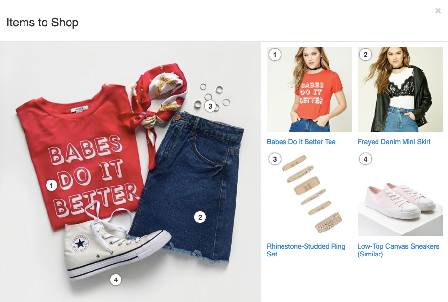 Best Instagram marketing campaigns Forever 21