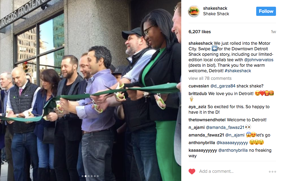 Best Instagram marketing campaigns Shake Shack