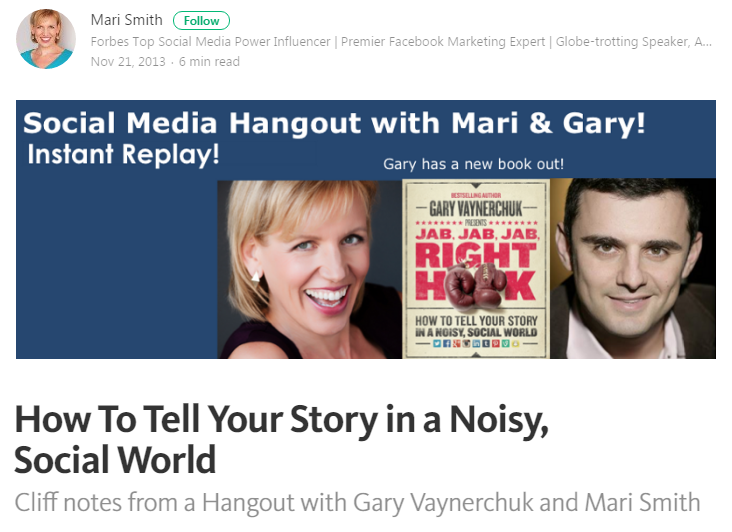 Best marketers on Medium Mari Smith