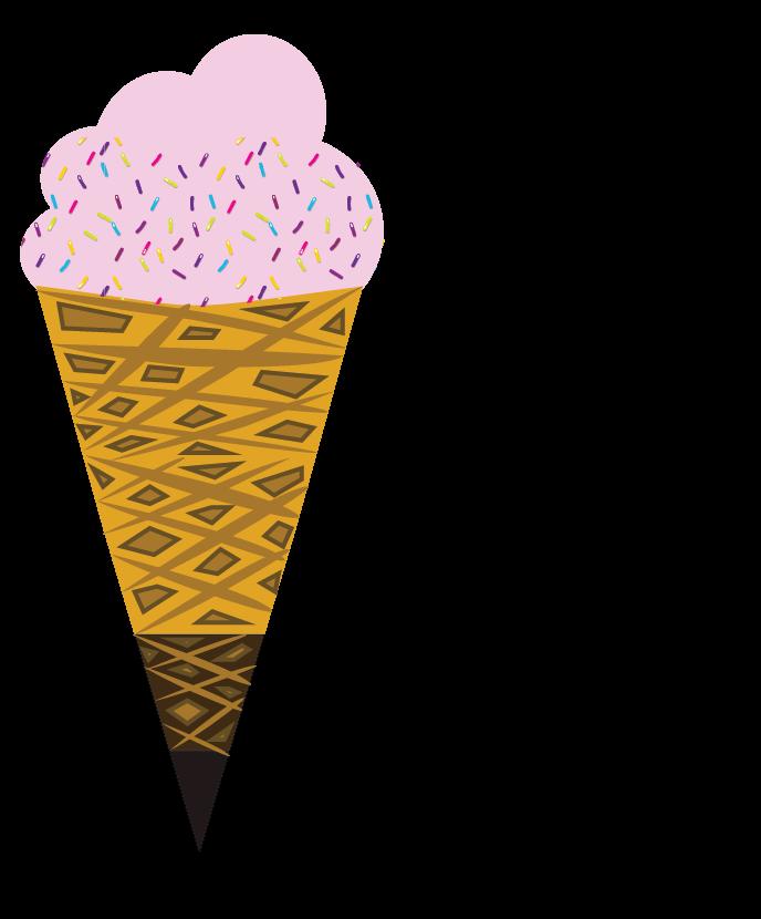 Marketing funnel ice cream cone