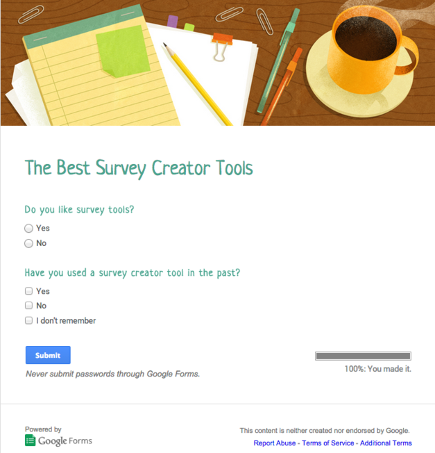image about Create a Printable Survey referred to as 8 Most straightforward Study Equipment: Crank out Incredible Surveys For Free of charge
