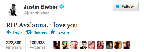 Most Popular Tweet of All Time