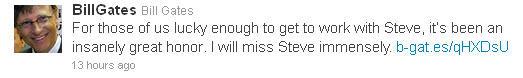 Bill Gates remembers Steve