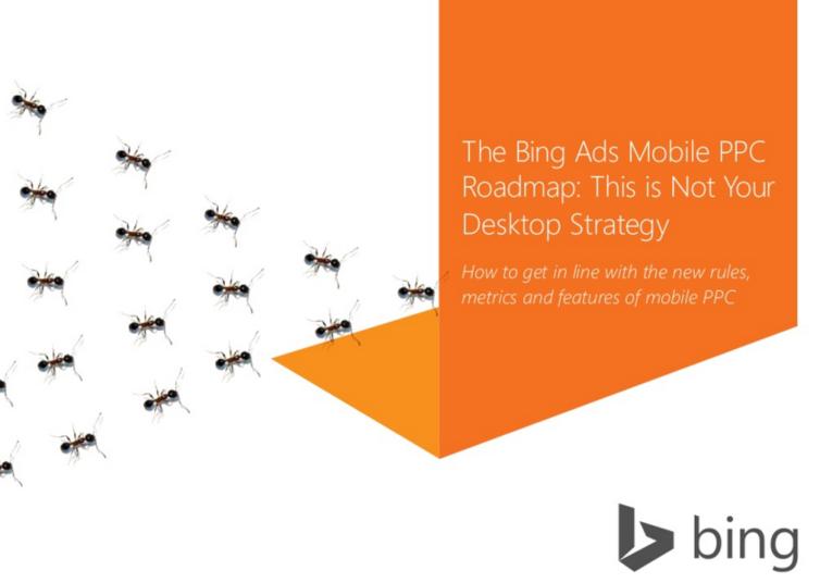 Bing mobile roadmap