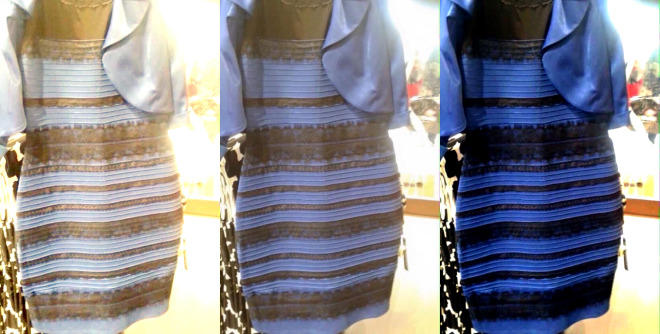 The black blue white gold dress