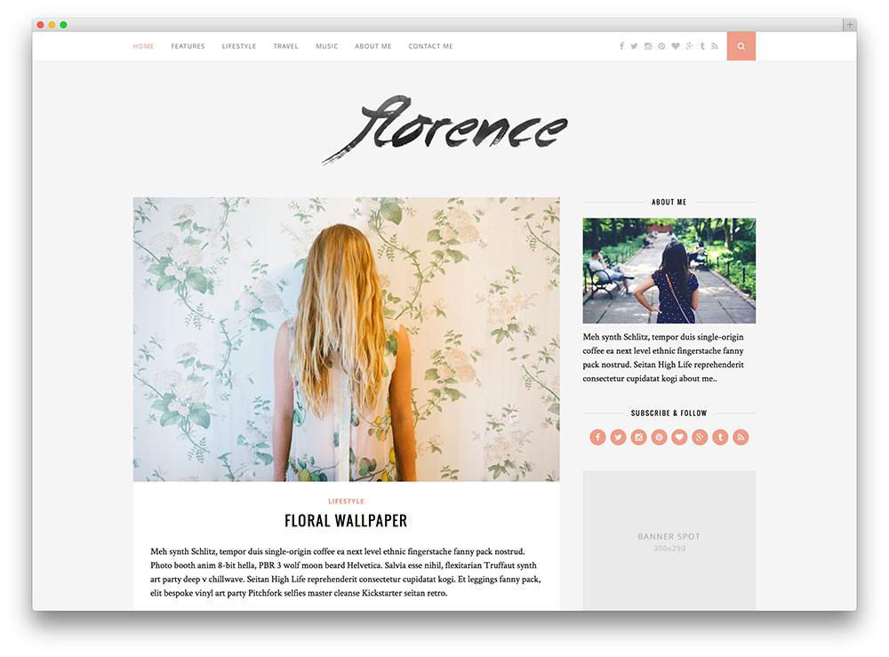 Blog design trends clean blog layouts