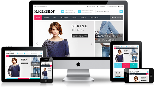 Blog design trends responsive design examples