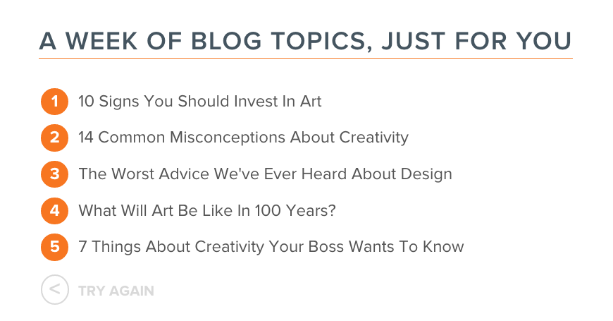 8 Blog Topic Generators for Blog Post Idea Inspiration