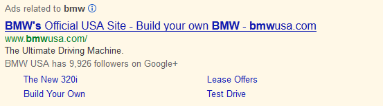 Top Ranked PPC Ad