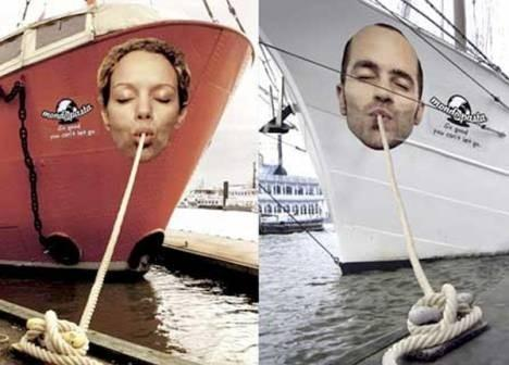 Advertising on Boats