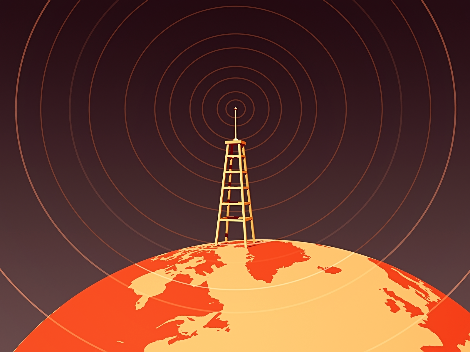 Brand advocacy paid social amplify message old-timey radio tower