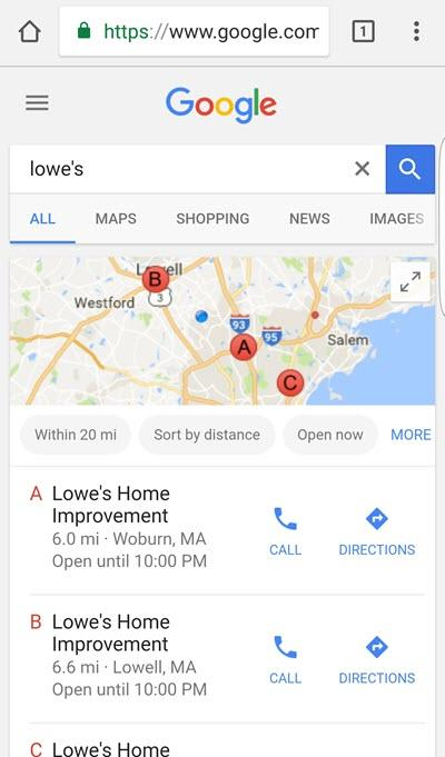 how much are brand searches on mobile worth