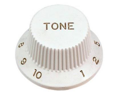 Brand voice guitar tone knob