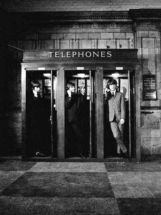 Call Only Campaigns Beatles in phone booth