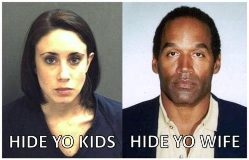 Casey Anthony OJ Simpson