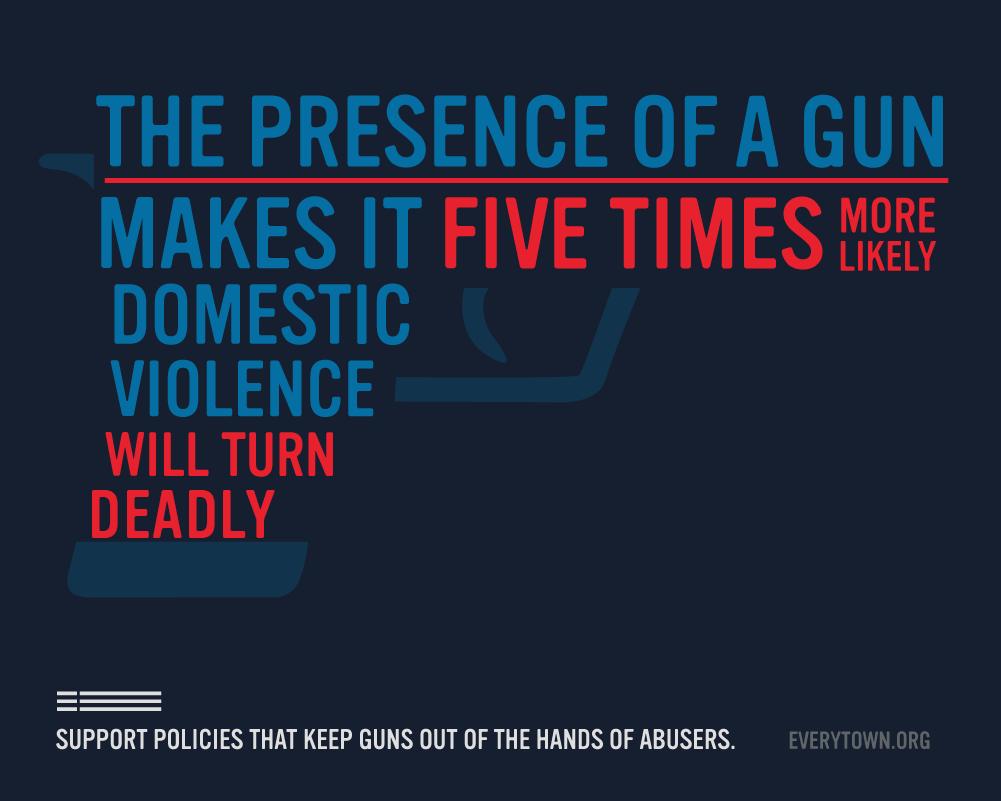 Cause-based marketing Everytown for Gun Violence domestic violence statistics
