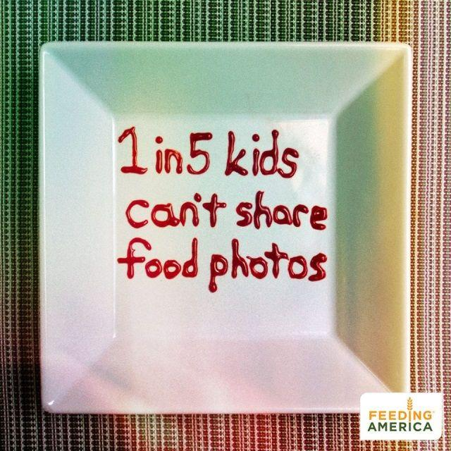 Cause-based marketing Feeding America social media campaign example