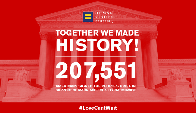 Cause-based marketing Human Rights Campaign marriage equality campaign example